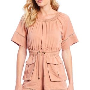NWT  A Loves A Sandy Pink Romper